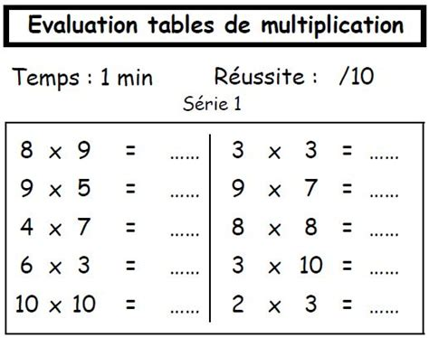 table de multiplication exercices gratuit 123 best images about ecole on math a chicken and