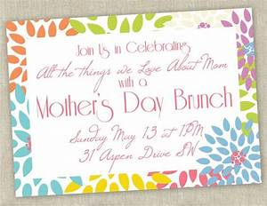 Printable Mother's Day Brunch Invitation | That's clever ...