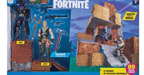 fortnite turbo builder set  figure pack  toyark news