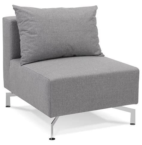 canapé voltaire 3 places élément 1 place voltaire seat gris canapé modulable