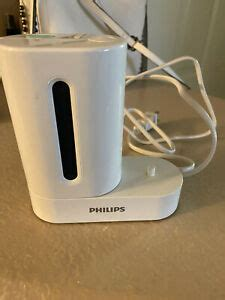 PHILLIPS SONICARE CHARGER WITH UV TOOTHBRUSH SANITIZER TO