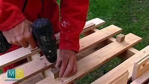 Faire Une Plancha : rangement atelier partir d 39 une palette youtube ~ Nature-et-papiers.com Idées de Décoration