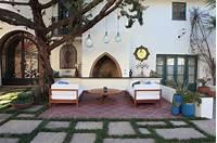 trending spanish patio decor ideas Courtyard Lounge - Mediterranean - Patio - los angeles - by Cassy Aoyagi, FormLA Landscaping