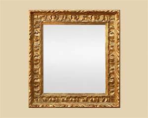 Miroir Vénitien Ancien : miroir bois dor sculpt moderne style espagnol ~ Preciouscoupons.com Idées de Décoration