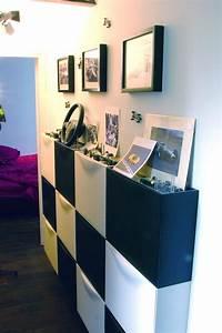 Meuble Couloir étroit : meuble de rangement pour chaussures am nagement entr e pinterest rangement pour chaussures ~ Teatrodelosmanantiales.com Idées de Décoration