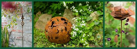 Garten Deko Kugel Rost by Gartendeko Rost Edelrost G 252 Nstig Kaufen Kuheiga