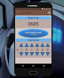 Code Autoradio Ford : vford radio security code android apps on google play ~ Mglfilm.com Idées de Décoration