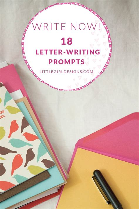 write   letter writing prompts  bring  snail mail