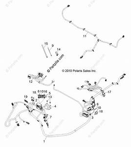 Polaris Side By Side 2011 Oem Parts Diagram For Electrical