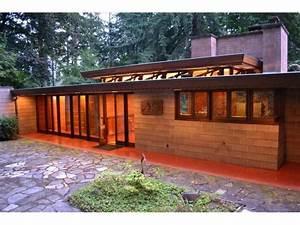 Frank Lloyd Wright Gebäude : die besten 25 usonian ideen auf pinterest frank lloyd wright frank lloyd wright h user und ~ Buech-reservation.com Haus und Dekorationen