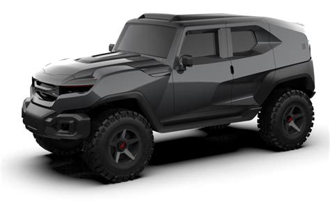 rezvani produces hellcat powered military edition tank