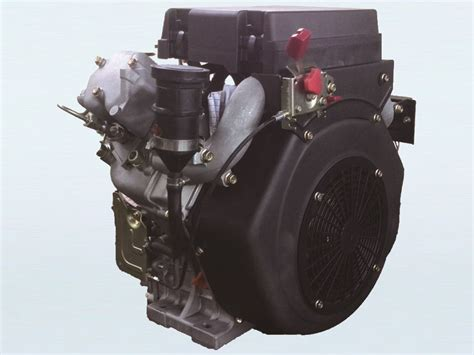 22hp V-twin Electric Start Diesel Engine