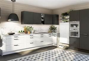 Cuisine D Angle : cuisine en l 5 plans pour votre cuisine d angle ixina france ~ Teatrodelosmanantiales.com Idées de Décoration