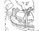 Coloring Barn Realistic Clipart Printable Bettercoloring Respective Owners Characters Featured Property sketch template