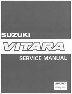 1991 Vitara Service Manual Pdf  27 7 Mb