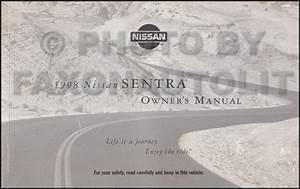 1998 Nissan Sentra  200sx 2 0l Repair Shop Manual Original