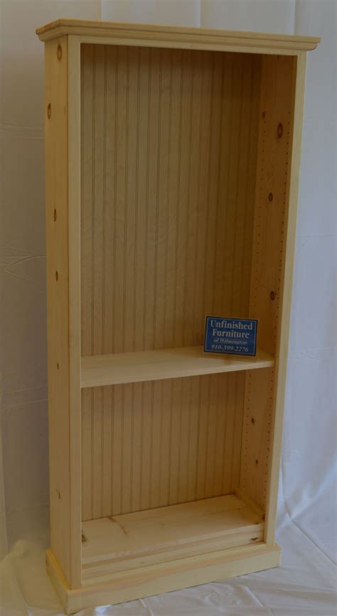 Pine Bookcases Furniture by Pine 30x72x10 Bookcase Unfinished Furniture Of Wilmington