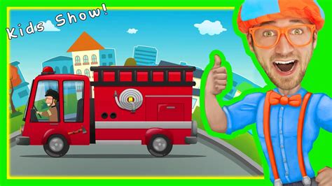 Here are a few more popular trucking songs you missed Fire Truck Song for Children   Nursery Rhymes with Blippi ...