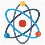 Quantum Icon Science Physics Atom Icons Editor