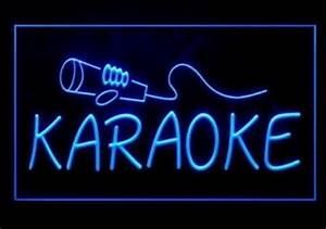 Karaoke Game Room LED Neon Sign
