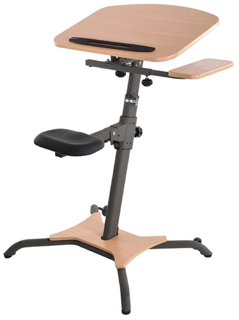 stand up computer stand for desk stamina wirk linea adjustable stand up workstation