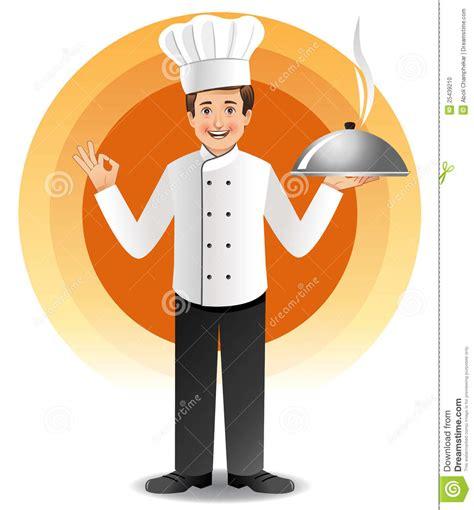 cuisine de chefs chef avec cuire la cuisine à la vapeur photo stock