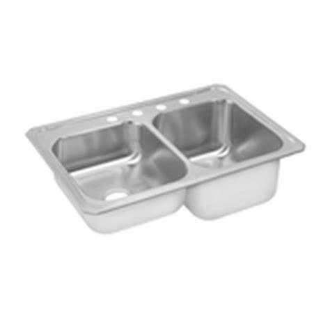 best stainless steel sinks elkay gourmet celebrity top mount stainless steel 33 in 4