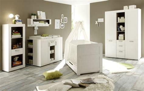 Babyzimmer Komplett Set 7tlg Pinie Weiß Struktur
