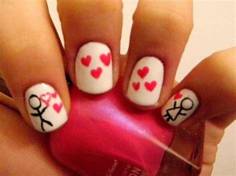 Best Nail Art Designs For Valentine's Day 2014