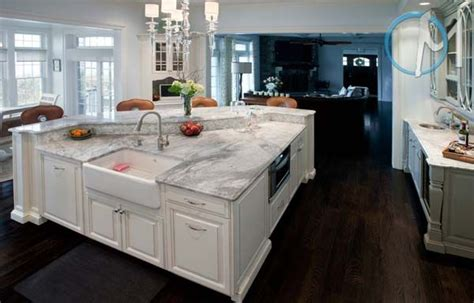 White Kitchen Cabinets With White Granite Countertops by Kitchen With Cabinets White River Granite Kitchen