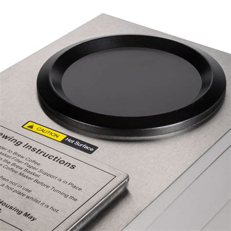 Hot plates are normally what many envision when they think of a mug warmer. Avantco CPLATE Replacement Warming Plate for C10 and C30 ...