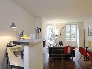 Amenagement Petite Surface : amenagement petite surface appartement up position ~ Melissatoandfro.com Idées de Décoration