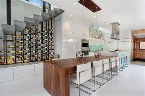 cuisine avec cave a vin 12 ères d 39 intégrer une cave à vin dans votre cuisine