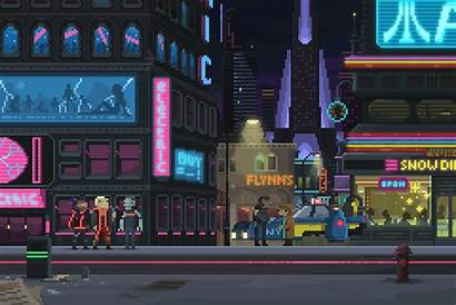 Pixel Cyberpunk Artist