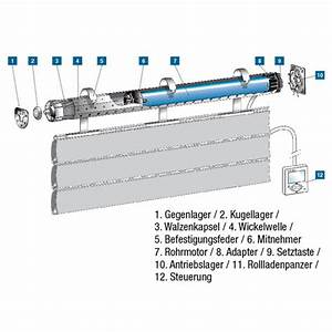 Elektrische Rolladen Motor : elektronische rohrmotoren rolladen motoren und zubeh r ~ Michelbontemps.com Haus und Dekorationen