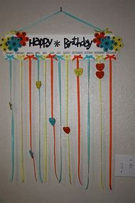 Classroom Birthday Board Idea