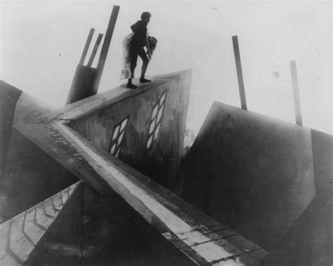 the cabinet of doctor caligari 1920 1919 the cabinet of dr caligari set design cinema