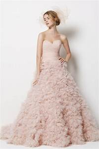 Wedding trends blush wedding dresses belle the magazine for Blush pink wedding dress
