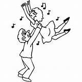 Dancing Couple Coloring Sheet Google Freecoloringsheets Occasions Ballet Samples Ribbon Purple sketch template