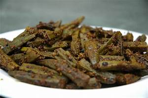 Masala Fried Okra (Masala Bhindi Fry) | The Restaurant ...