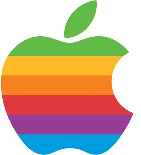 File:Apple Computer Logo rainbow.svg - Wikimedia Commons