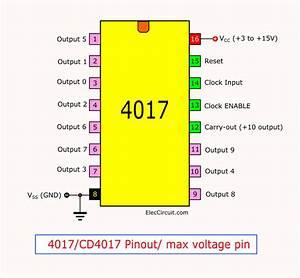 Ic 4017  Cd4017 Datasheet