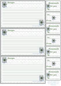 Free Printable Recipe Card Template