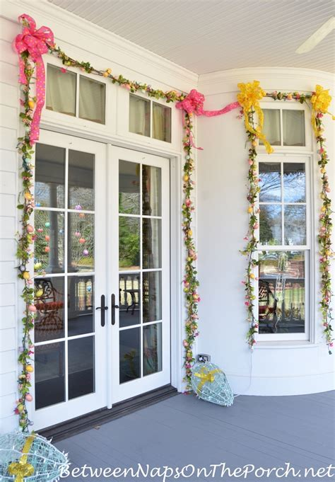 decorating with doors and windows decorate outdoors for easter