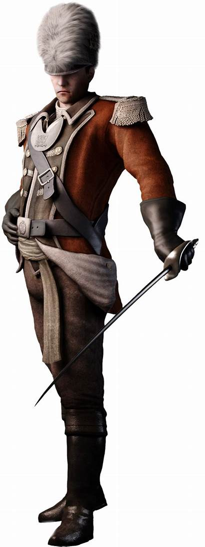 Creed British Ac3 Officers Leader Assassin Soldier