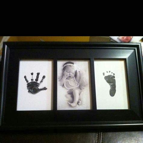 born hand foot print hands pinterest printing