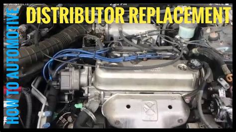 accident recorder 2011 honda element electronic valve timing how to replace the distributor on a 1993 2002 honda accord with a 2 2 l engine youtube