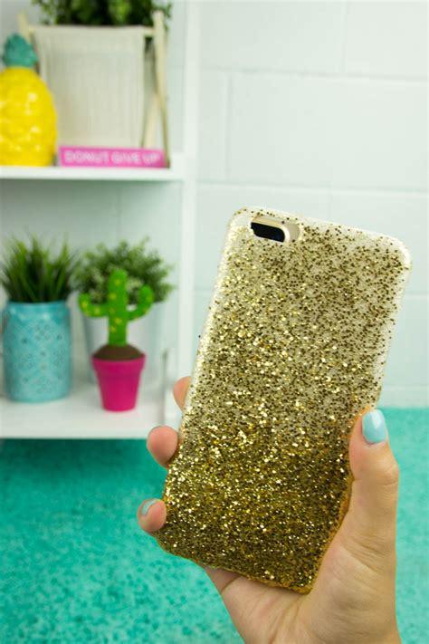 Super Easy Craft Idea For Teens Diy Ombre Glitter Phone