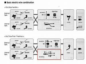 Shimano Shimano  Tt  Tri Controls Cable  Di2 Wire Kit Sm