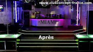 amenagement club concept decoration discotheque relookage With decoration boite de nuit